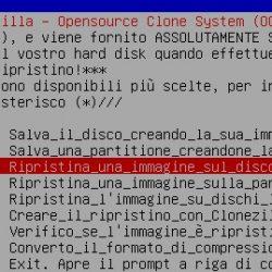 Restore Hard disk